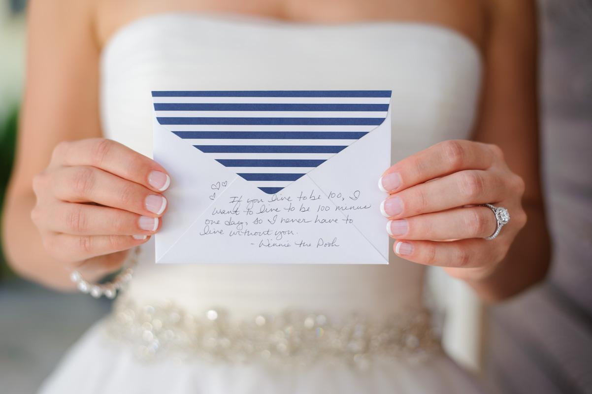 brideholdingcard