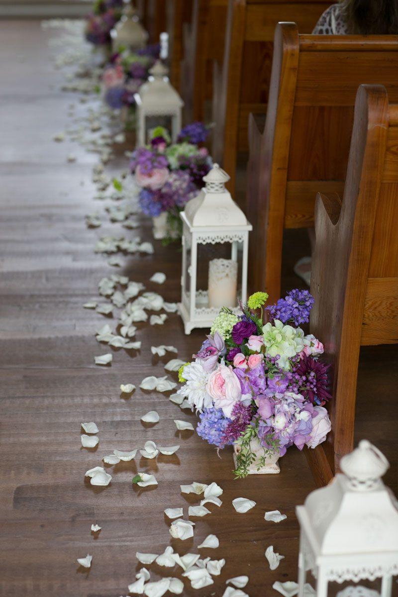 Aisle decor white lanterns 4_1_16 Rocky and Evelyn Cross Creek Ranch Wedding 040