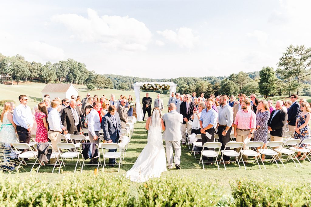 Woodmont Golf and Country Club | Canton, Georgia | Bride and Groom