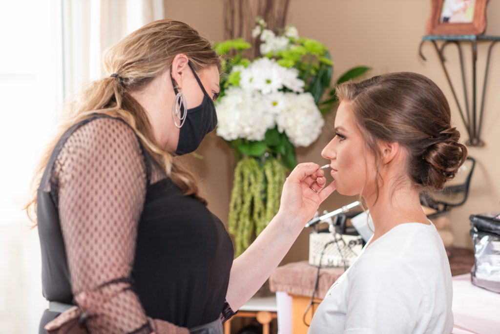 wedding day beauty | reduce maskne | acne due to wearing mask